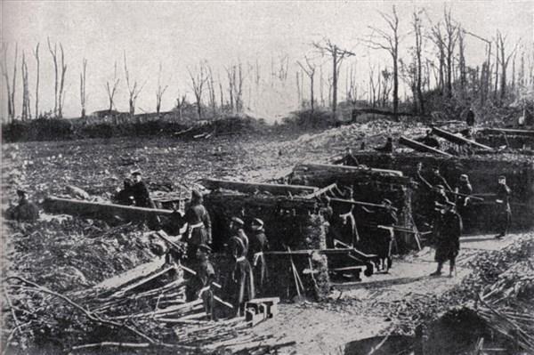 Geschütze gegen Paris 1871