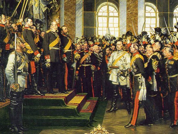 Proclamation empire allemand